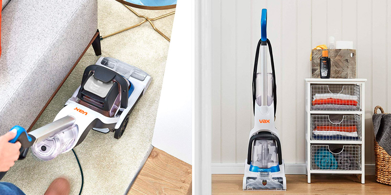 Vax Compact Power Carpet Cleaner in the use