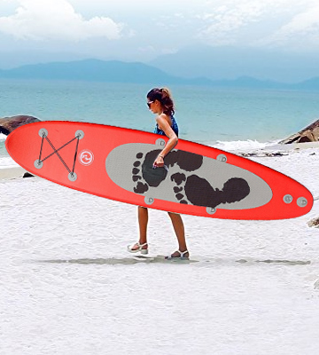 Review of Two Bare Feet TBFSUPENT ENTRADIA II Inflatable Stand Up Paddle Board iSUP