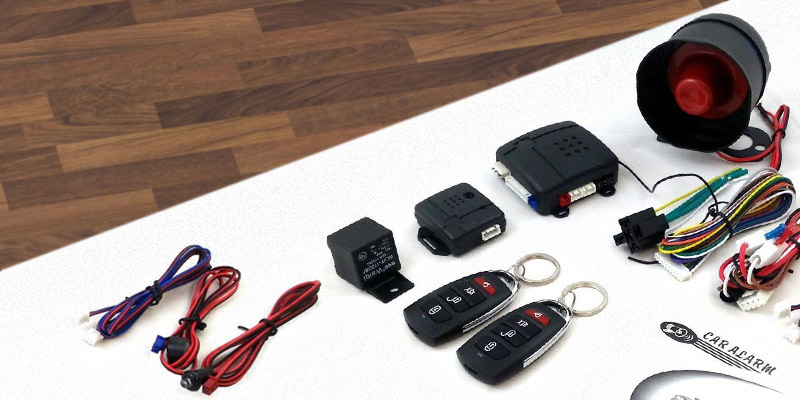 Review of Flexzon U3 AUTO ALARM Universal Car Security Alarm System