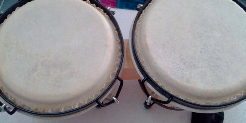 Review of Stagg BW-70-N Bongos, 7 icnh and 6 inch