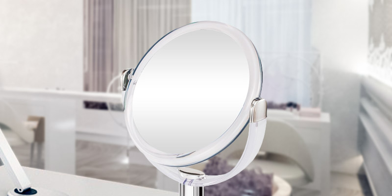 Review of Gotofine 1 X & 10 X Magnifying Double Sided Tabletop Makeup Mirror