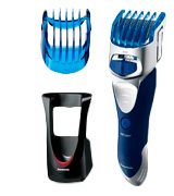 Panasonic ER-GS60 Wet and Dry Hair Clipper and Body Groomer