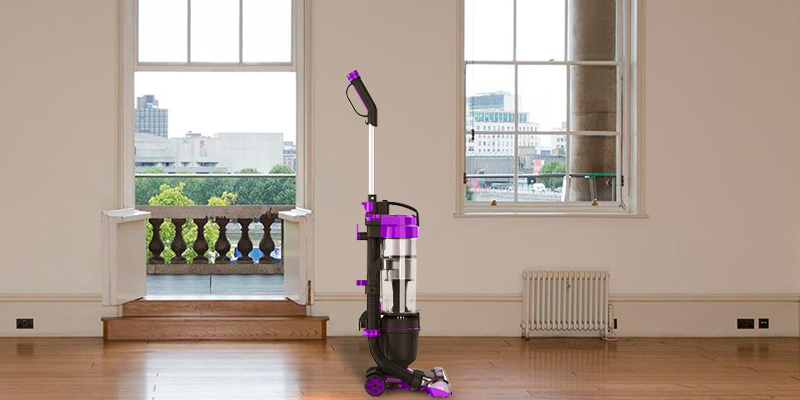 Vax Mach Air Upright Vacuum in the use