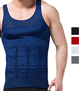 The Pure Blue Men's Slimming Vest Warm Instant Weight Loss