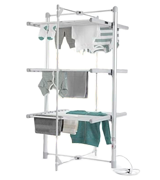 Lakeland Heated Indoor Airer Dry:Soon 3 Tier