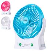 Miady Personal Desk Fan USB Fan Rechargeable 7.5-inch 4000mAh Battery Powered Fan 150
