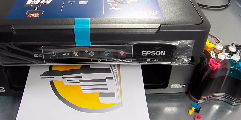 Detailed review of Epson Expression Home XP-245 All-in-One Inkjet Printer