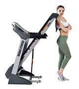 Branx Fitness Foldable Touchscreen Console Treadmill