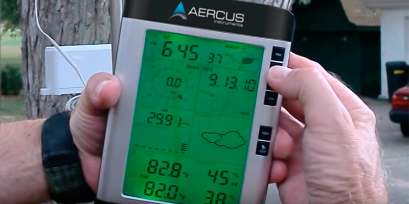 Detailed review of Aercus Instruments WS2083 Professional Weather Station with Internet Upload