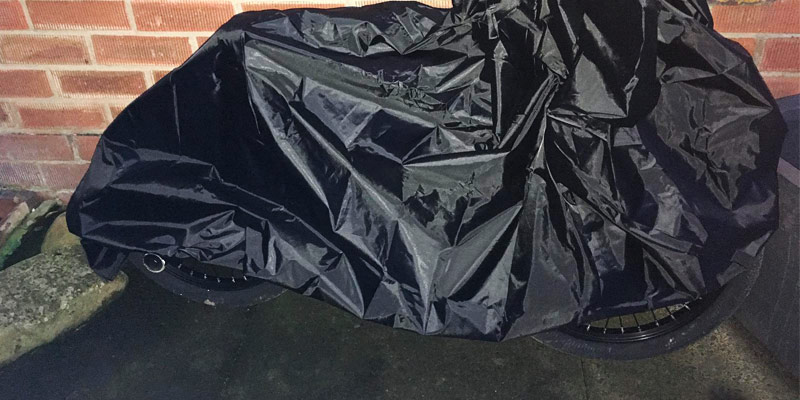 Review of Awnic Thermal Protective Coating Bike Cover
