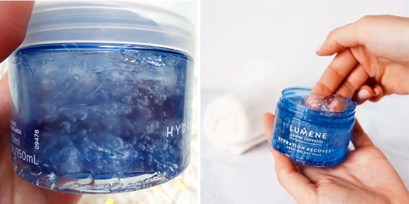 Review of Lumene Nordic Hydra Hydration Recovery Aerating Gel Mask