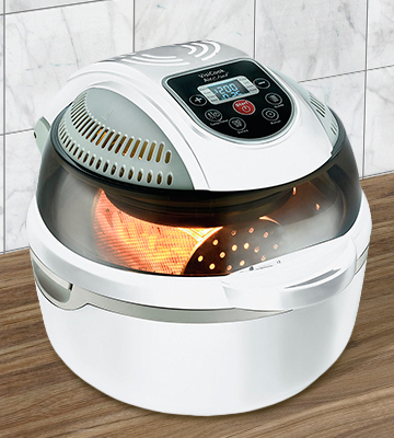 Review of VisiCook CRFG-5W AirChef Air Fryer, 1300 W, White