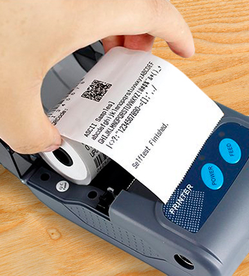 Review of Alacrity Al-58I Portable Mini Thermal Receipt Printer Receipt, Bluetooth, USB