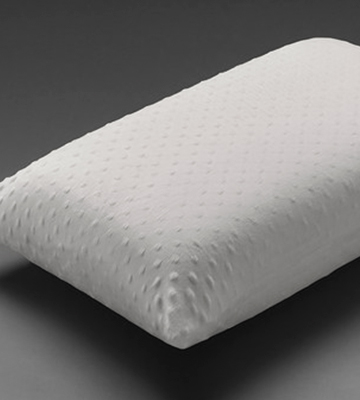 Review of Healthbeds Low Profile Luxury Cooltex Pillow Talalay Latex