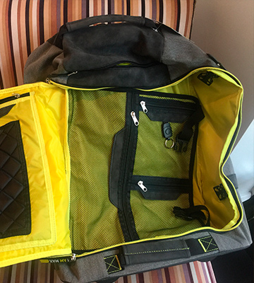 Review of Cabin Max Manhattan Hybrid Trolley Backpack