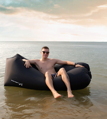 Review of Minkanak Air Inflatable Lounger Sofa