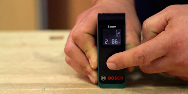 Bosch Zamo Digital Laser Measure in the use