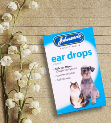 Review of Johnsons Veterinary Products natural pyrethrum Ear Drops