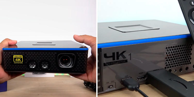 Review of AAXA (HP-4K1-00) 4K LED Projector