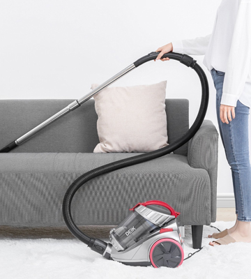 Review of Deik Cylinder Vacuum Cleaner Cyclonic Bagless