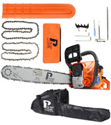 P1PE P6220C Petrol Chainsaw ,62 cc, Hyundai Powered