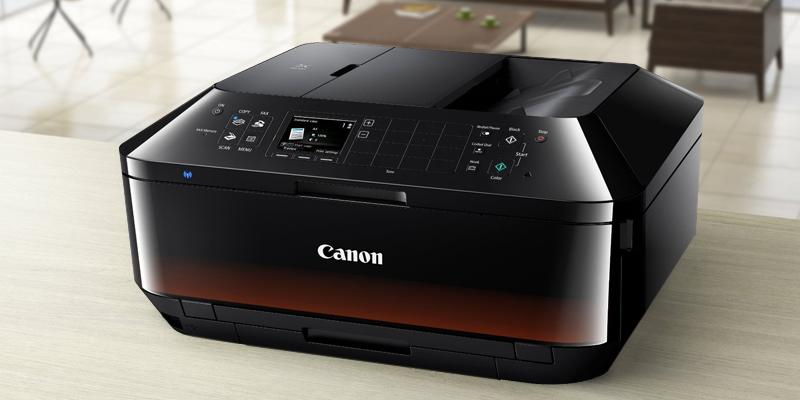 Review of Canon MX725 A4 Inkjet