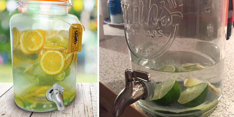 Review of Smith's Mason Jars Drinks Dispenser with Steel Spigot