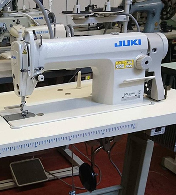 Review of JUKI DDL8100e Industrial Sewing Machine