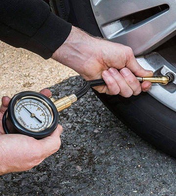 Review of Draper 69924 Tyre Pressure Gauge with Flexible Hose