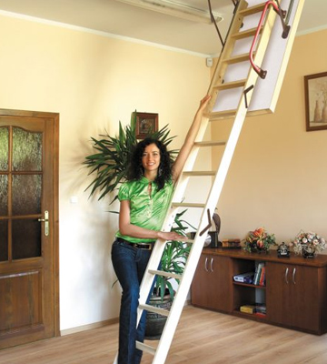 Review of Lyte LELW3 Easiloft 3 Section Timber Loft Ladder