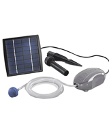 PowerBee Perfect Pond Solar Power Oxygenator for Small to Medium Ponds,