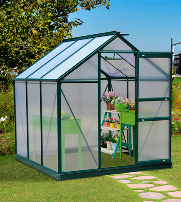 Review of Outsunny 845-058 6x6 ft Greenhouse