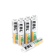 EBL Ni-MH AAA Rechargeable Batteries