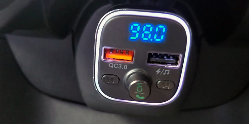 Review of Nulaxy NX11 LED Backlit Bluetooth FM Transmitter