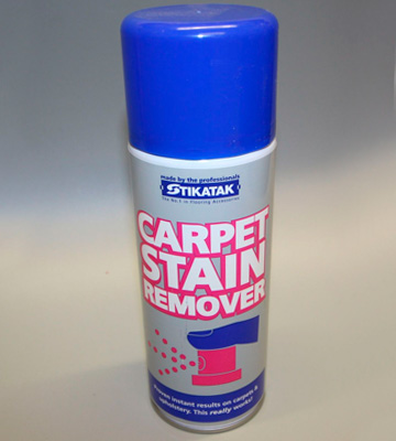 Review of Stikatak Carpet stain remover Pleasant smell, anti-static, easy