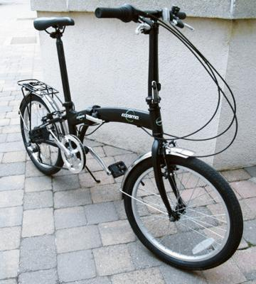 Review of ECOSMO Lightweight Alloy Folding City Bike Bicycle