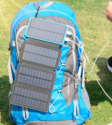 Review of ADDTOP CONS007 Portable Solar Charger