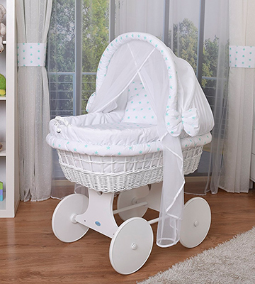 Review of WALDIN 1211-8s4w Baby Crib