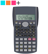 Helect H1002 Two Line Scientific Calculator
