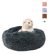 Muswanna Plush Donut Pet Bed