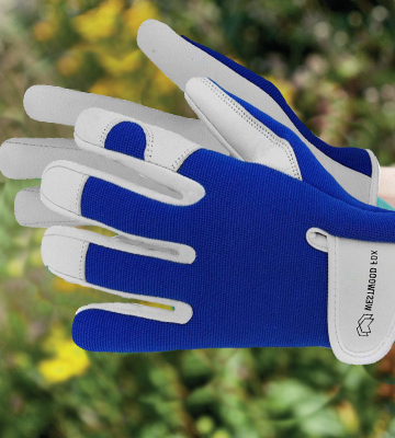 Review of WESTWOOD FOX Ladies/Mens Leather Gardening Gloves