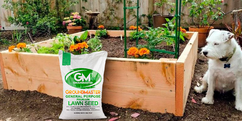Review of GroundMaster General Purpose Lawn Garden Grass Seed