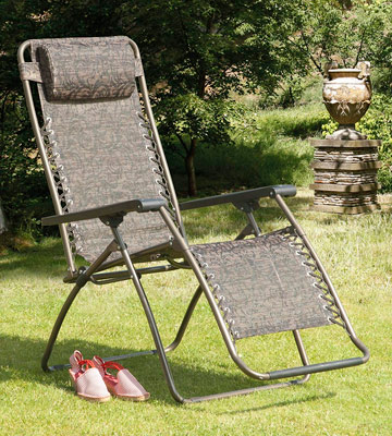 Review of Suntime GF06051 Folding Textilene Lounger Gravity Chair