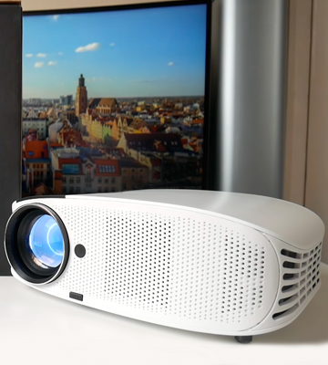 Review of ELEPHAS YG600W LED 4500 Lumens HD Video Projector