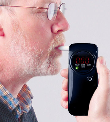 Review of AlcoSAFE CA10FS Pro Breathalyzer - Police Grade Accuracy