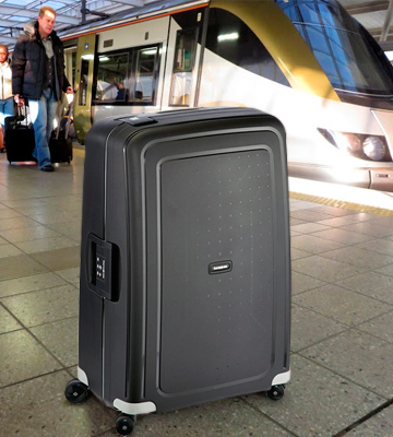 Review of Samsonite S'Cure Suitcase