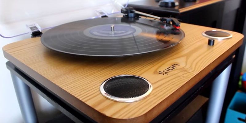 Review of ION Audio Max LP 3-Speed Belt Drive Turntable with Built-In Speakers