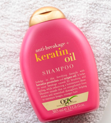 Review of OGX Keratin Oil Shampoo