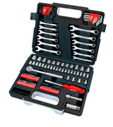 Draper 68504 Redline 107 Piece Mechanics Tool Kit