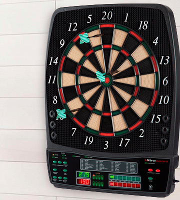 Review of Ultrasport 380100000140 Electric Dartboard